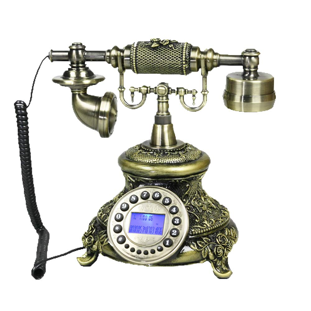 有線電話のリビングルームの寝室固定電話の固定電話の装飾   B07MQWY68B