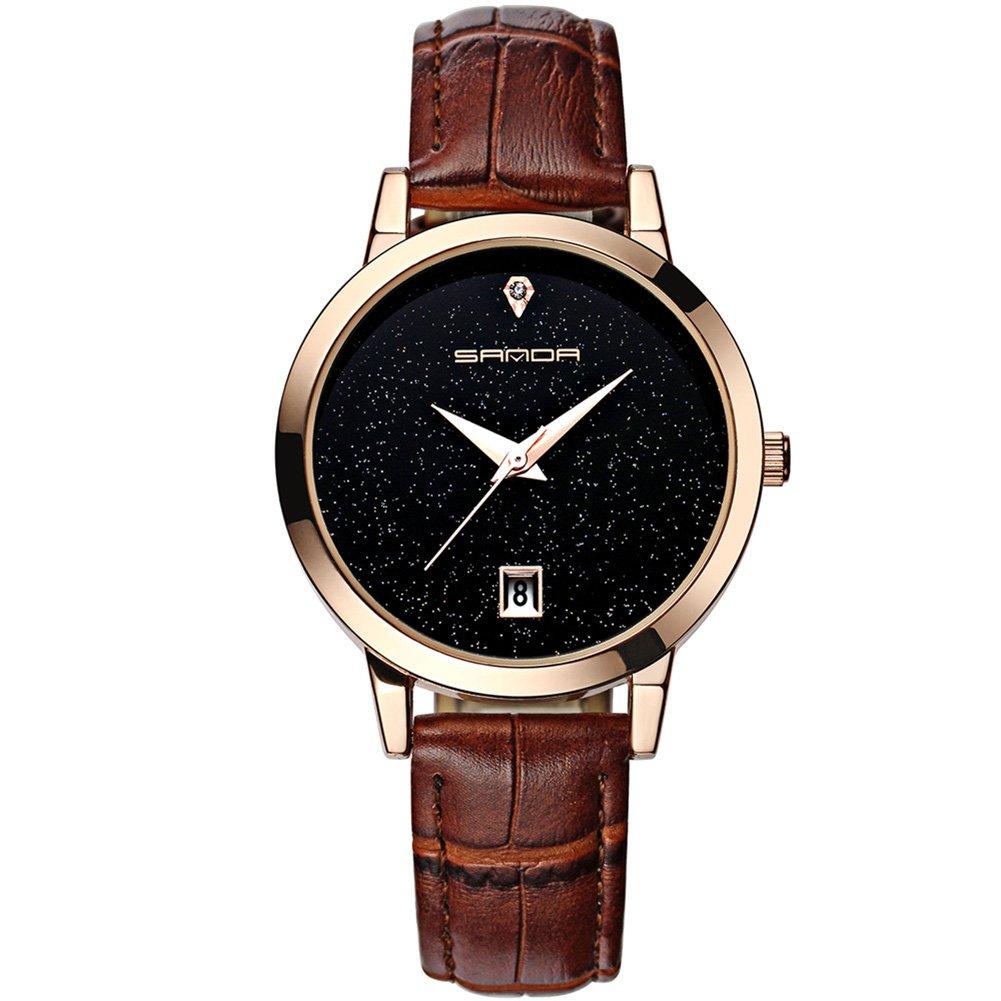 ETbotu Waterproof Watch Fashion Casual Style Quartz Elegant Wrist Watch Gift for Woman