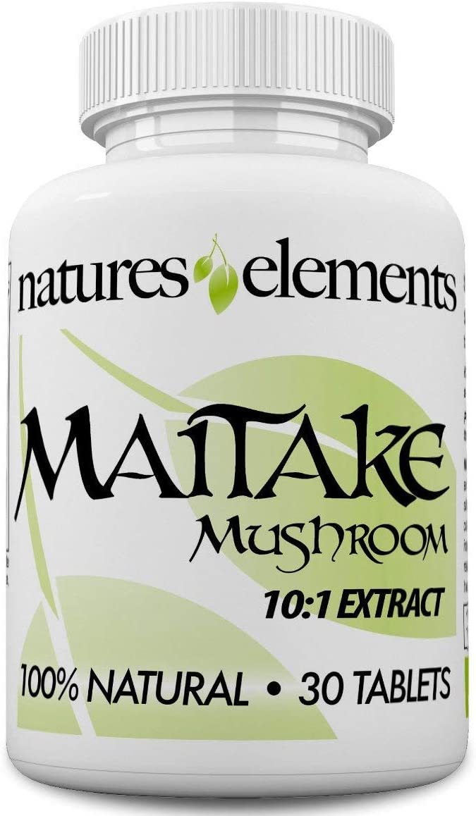 Maitake Mushroom for Immune Support - 1 Month Supply - Free Gift with 3 Bottle Purchase - Powerful 10 1 Maitake Extract - Standardized - Made in USA