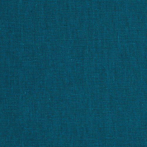 (Robert Kaufman Kaufman Essex 5.6 oz. Linen Blend Teal Fabric by The Yard,)