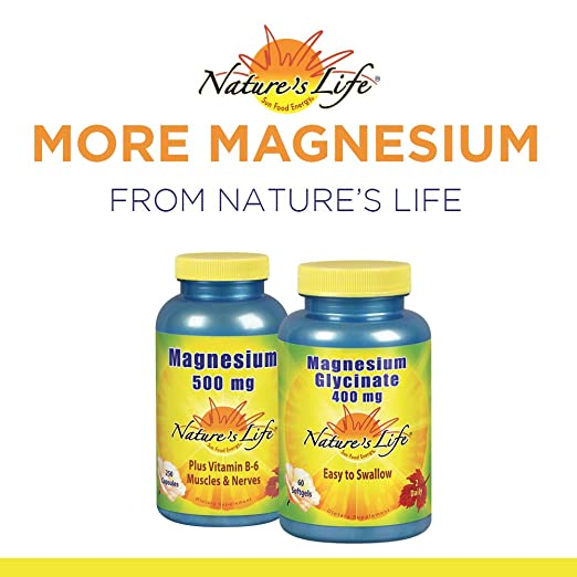 Amazon.com: Natures Life® Magnesium Malate 1300mg | with Malic Acid for Maximum Absorption | May Support Healthy Bones, Teeth & Nerve Function | Non-GMO ...