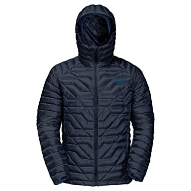 Jack Wolfskin Men's Argo Supreme Jacket, Night Blue, Medium