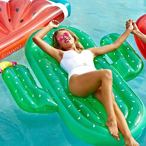 Hinchable Colchonetas Piscina Inflable flotador Gigante Inflable ...