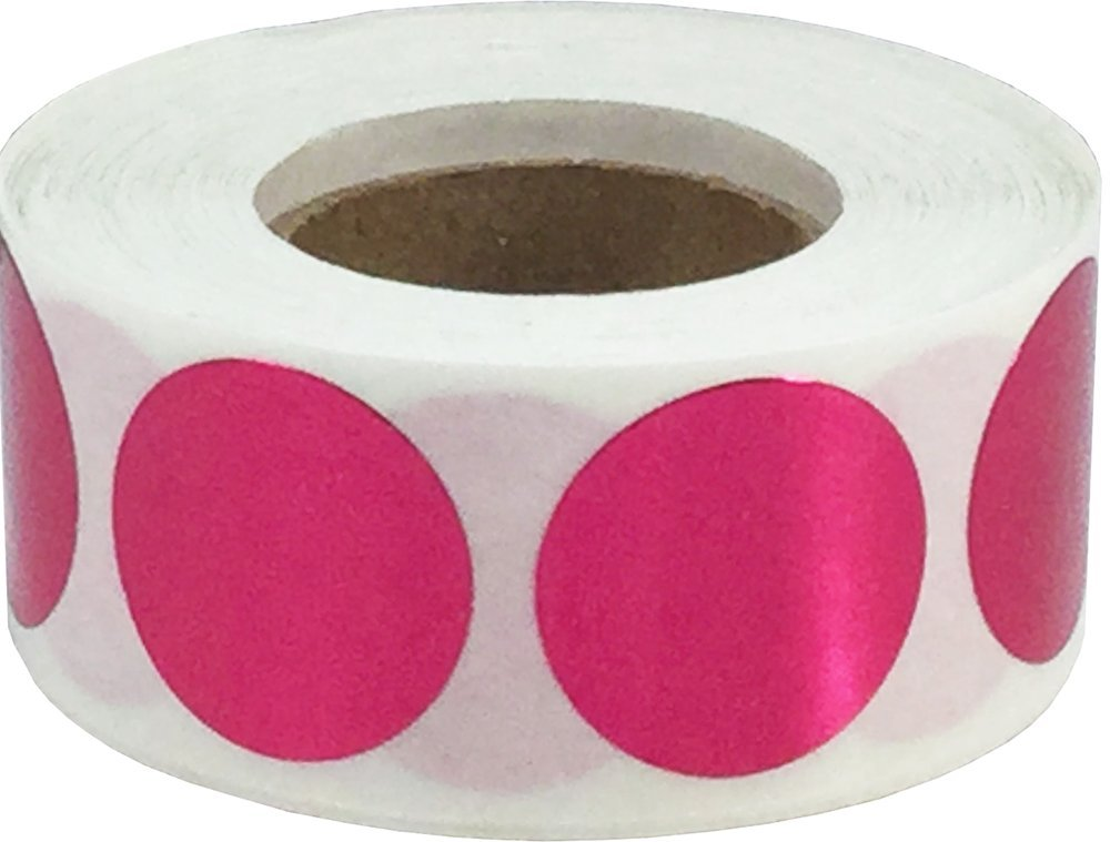 Ologramma Blu Cerchio Punto Adesivi 500 Etichette su Rotolo 19 mm 3//4 di Pollice Rotondo
