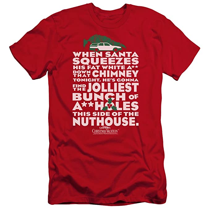 christmas vacation jolliest bunch unisex adult canvas brand t shirt for men and women
