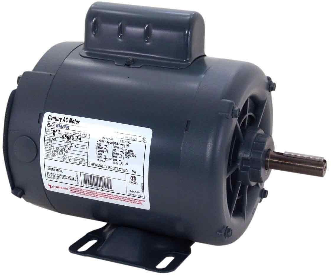 AO Smith C323 56 Frame 3/4 HP 1725 RPM 115 208-230-Volt 11-Amp Ball Bearing Cap Start Rigid by AO Smith  B0092LL21Y