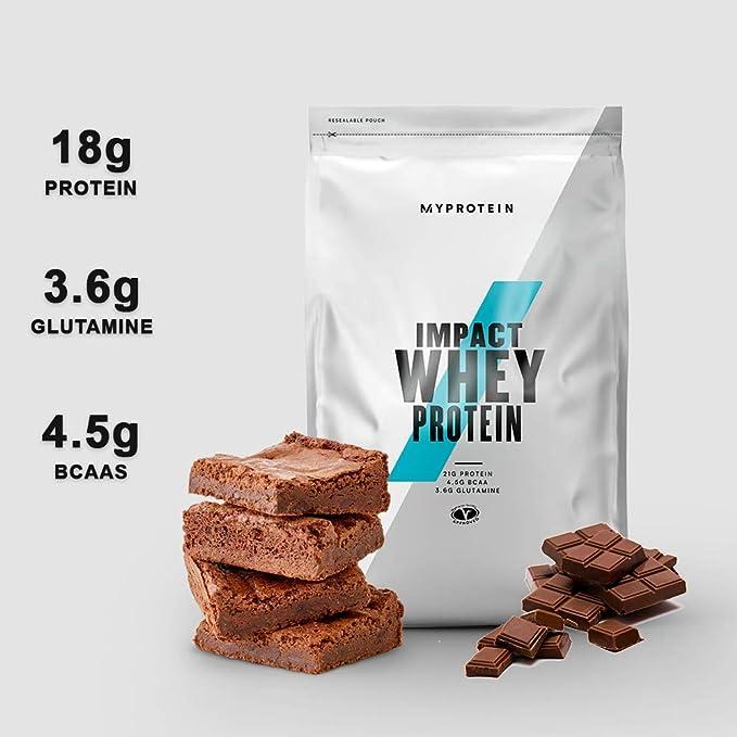 Myprotein Impact Whey Proteína de Suero, Sabor Brownie de ...