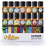 #7: Artizen Aromatherapy Top 14 Essential Oil Set (100% PURE & NATURAL) Therapeutic Grade Essential Oils - All of Our Most Popular Scents and Best Essential Oil Blends