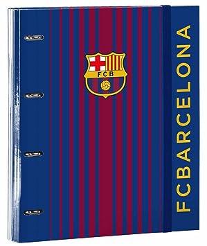 Futbol Club Barcelona- Carpeta 4 Anillas 30 mm con Recambio, a4 (SAFTA 511729666)