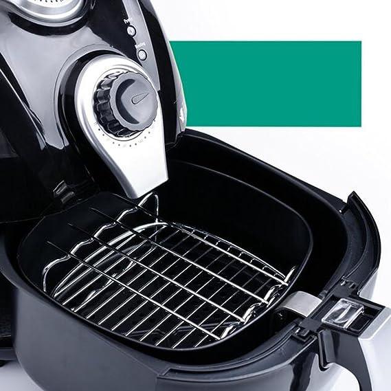 T & B aire freidoras doble capa Rack con pinchos de 4 304 Acero inoxidable hornear y refrigeración accesorio de cocción al vapor Accesorios XL: Amazon.es: ...