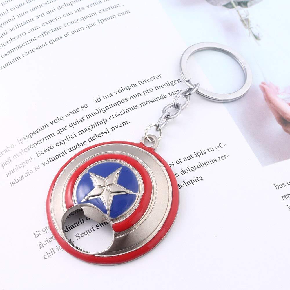 Amazon.com: Avengers Capitán América abrebotellas llavero ...