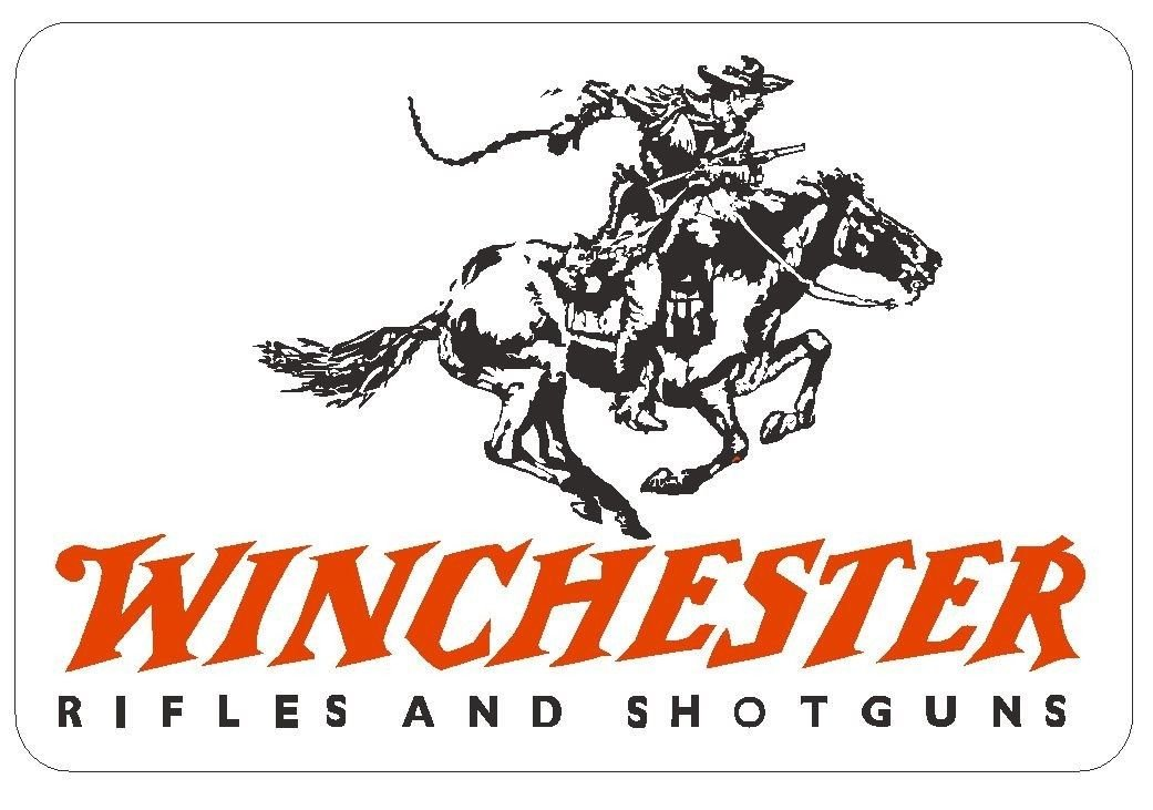 Winchester Funny Vinyl | 8 Size Logo Truck Emblem Windows Laptops | Winchester Sticker 4 inch