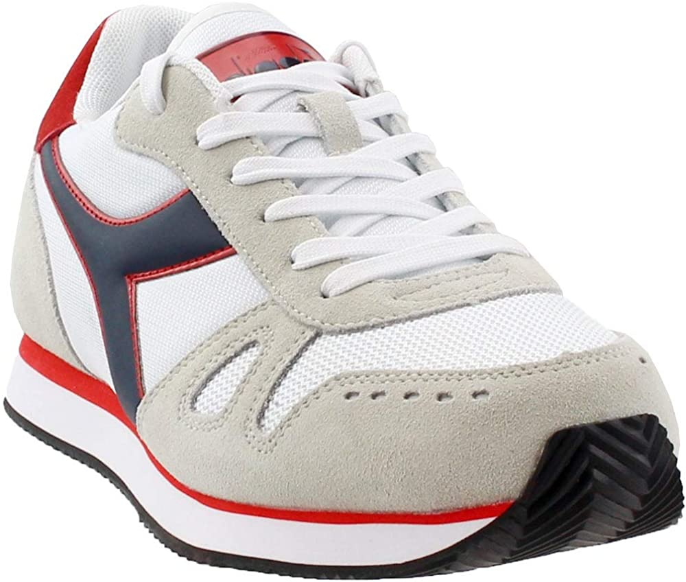 Diadora Mens Simple Run Running Casual Sneakers,