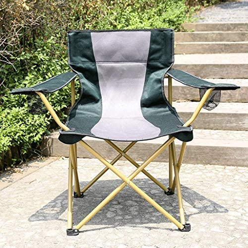 NXYJD Outdoor Aluminum Alloy Folding Fishing Chair for Camping Fishing Travel Hiking Picnic Beach,Easy to Setup