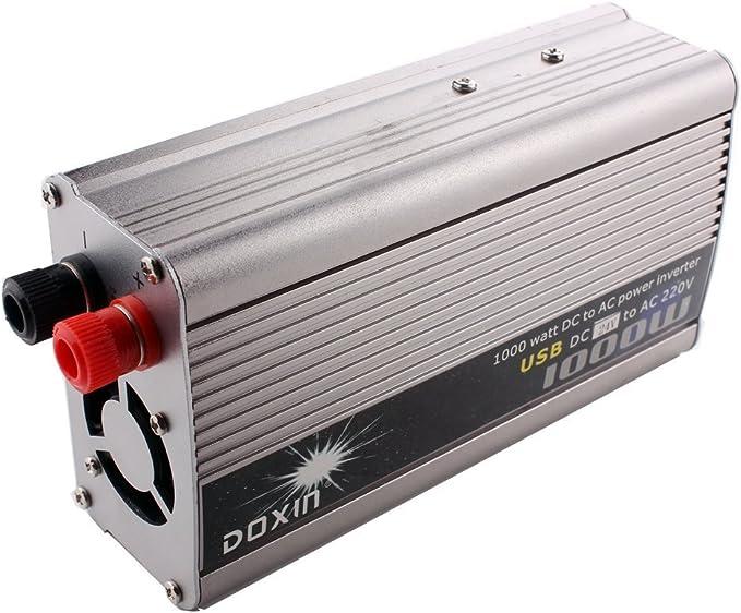 24V A 220V Dingln 1000W Car Inverter Tensione Potenza Converter Transformer 4USB Caricatore 12V