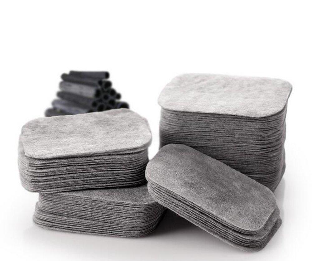 200 Stü ck Bambus Carbon Deep Clean Make-up Baumwolle pad-skin Care Make Up Radiergummi doppelstö ckige Make-up Bio Baumwolle fü r Entlastung Make-up und reinigen Nagellack (mit einer Box) Elandy