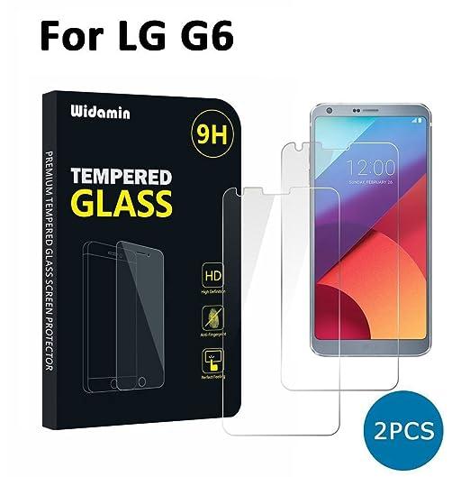 121 opinioni per LG G6 [2 Pack] pellicole vetro temperato screen protector, Widamin® della