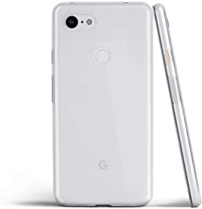 totallee Clear Pixel 3a XL Case, Thin Soft Cover Slim Flexible TPU - for Google Pixel 3aXL (2019) (Transparent) …