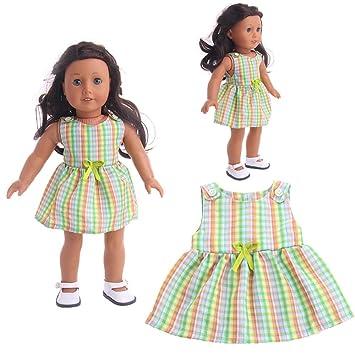 7408fb7c5c23 Amazon.com  Binmer Doll Clothes