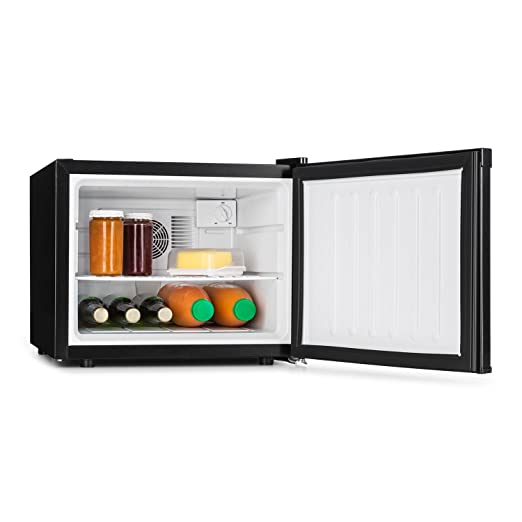 Klarstein Manhattan Nevera mini - Minibar 2 zonas, Temperatura 3 ...