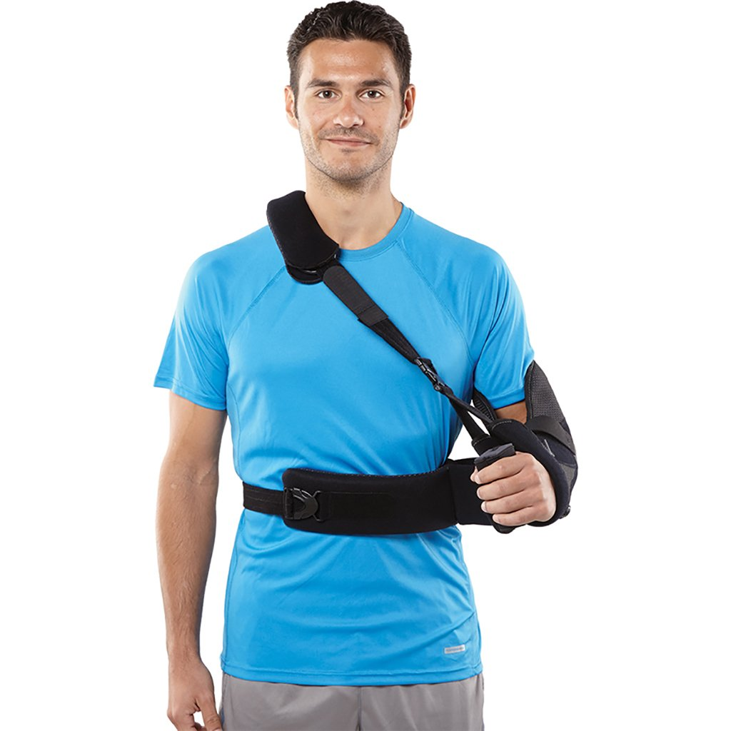 Breg ARC 2.0 Shoulder Brace with Moldable Aluminum Waistband