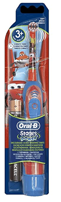 23 opinioni per BRAUN ORAL B ADVANCE POWER KIDS BATTERY OPERATED TOOTHBRUSH CARS by Braun