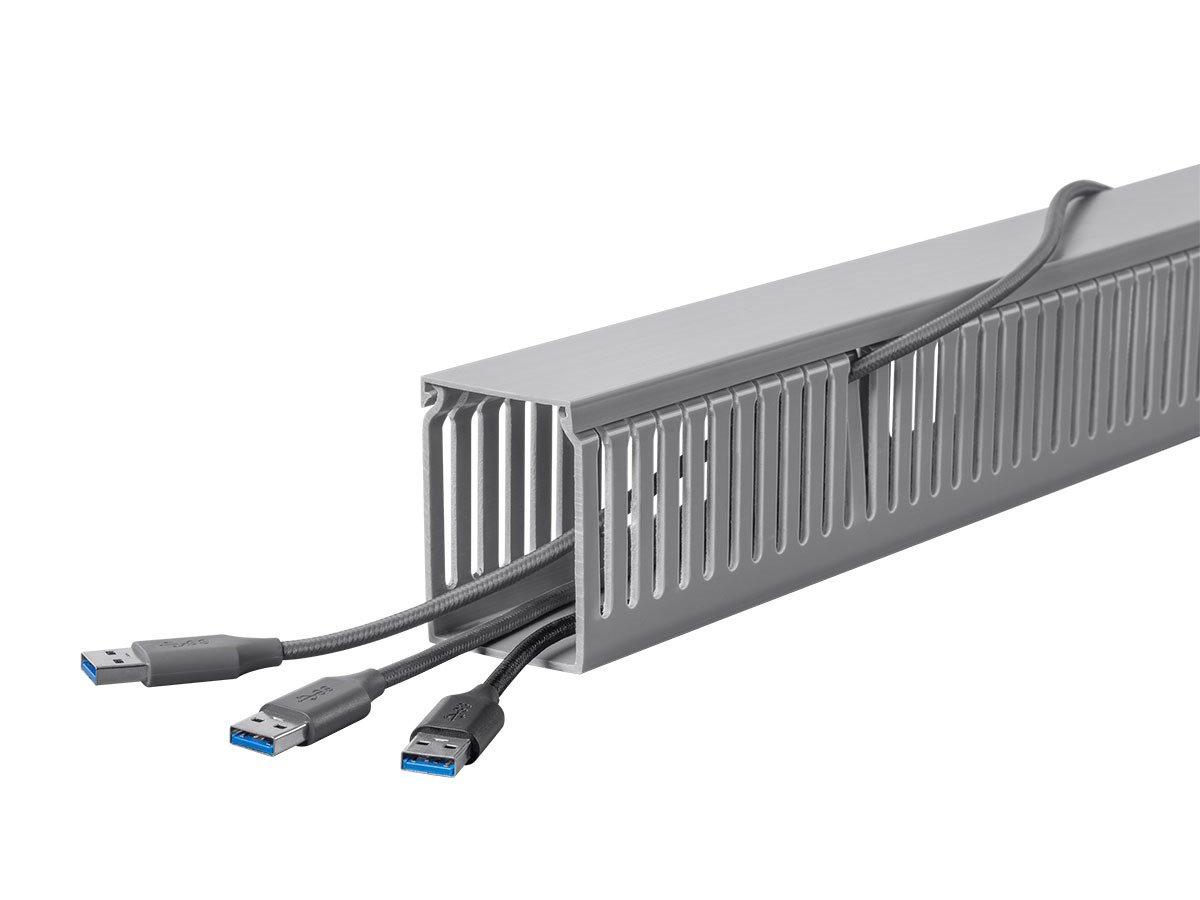 Amazon.com: Monoprice Open Slot Wiring Raceway Duct with Cover, 6 ...