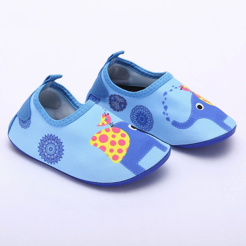 Kid Baby Boys/&Girls Wading Beach Swimming Shoes Whale Surf Snorkel Socks Diving Child Wild Quick Drying
