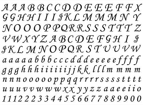 Script Alphabet 3/8