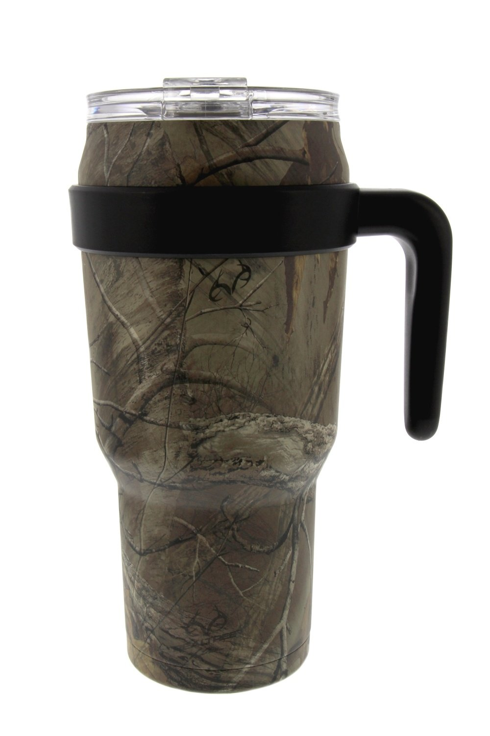 Reduce COLD-1 Stainless Steel 40 oz Thermal Mug- Vacuum Insulated Sweat Proof Travel Mug- Keep Beverages Ice Cold Up To 30 Hours-Includes Lid and Ergonomic Handle (Realtree Xtra Camo)