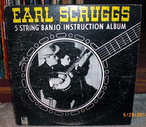 EARL SCRUGGS 5 STRING BANJO INSTRUCTION ALBUM (LP Record)