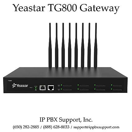Amazon com: Yeastar TG800 (8-Port) 4G/LTE Gateway: Electronics