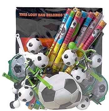 COOLMP - Juego de 6 Gadgets de fútbol - Talla única ...