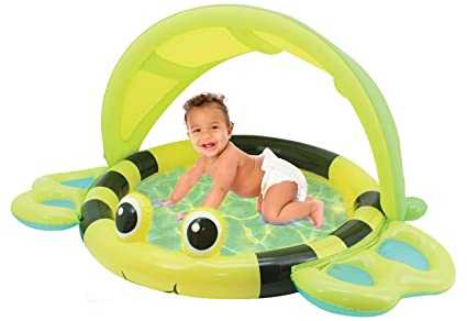 Amazon.com: Hoovy Bumble Bee piscina suave inflable ...