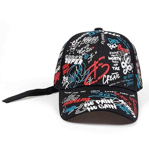 Gorra de béisbol de Verano Gorras de Sol de Graffiti Visor de Hip ...