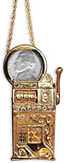 product image for American Coin Treasures Slot Machine Pin/Pendant with Jefferson Nickel