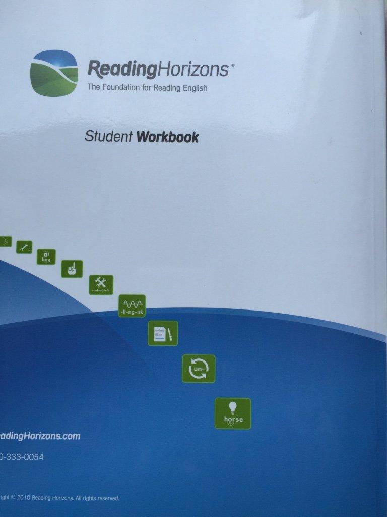 Reading Horizons Student Workbook Heidi Hyte 9780928424621 Amazon Com Books Reading horizons student workbook pdf