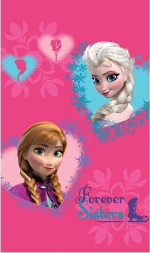Disney Toalla de mano, 30 x 50 cm, diseño de Frozen, color rosa: Amazon.es: Hogar