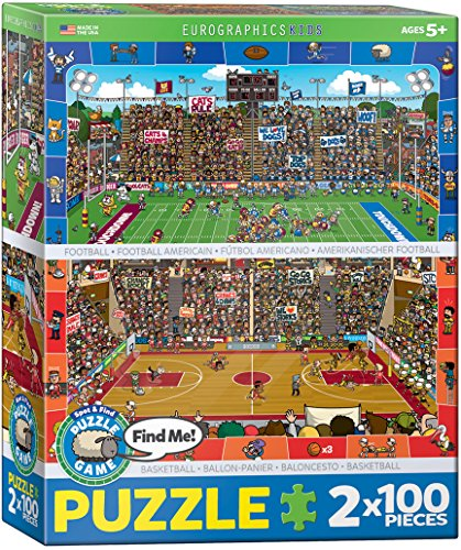EuroGraphics Spot and Find Puzzle - Puzzle Pack 2