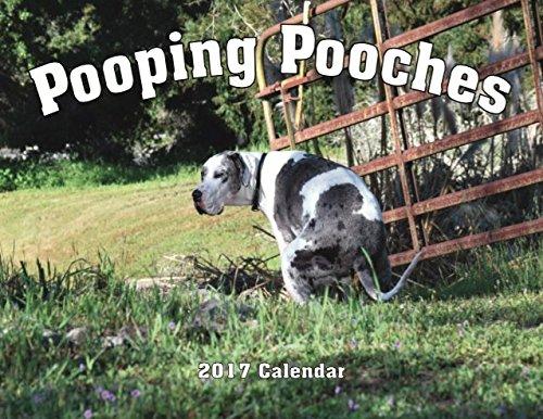 2017 Pooping Pooches White Elephant Gag Gift Calendar
