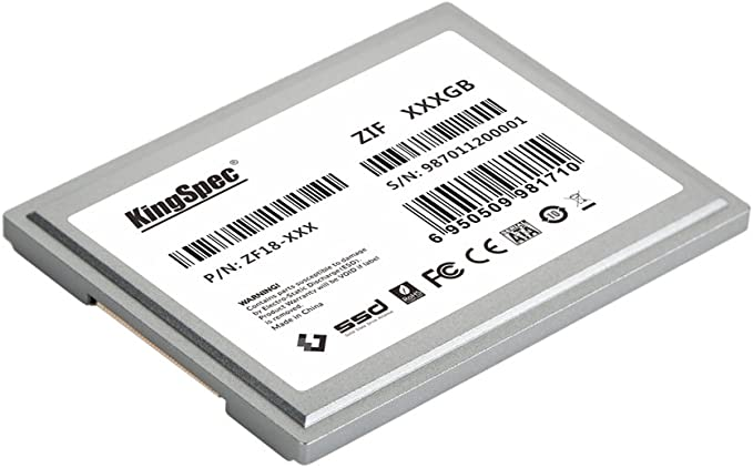 128 GB KingSpec 1,8 ZIF 40 pines de estado sólido SSD disco SMI ...