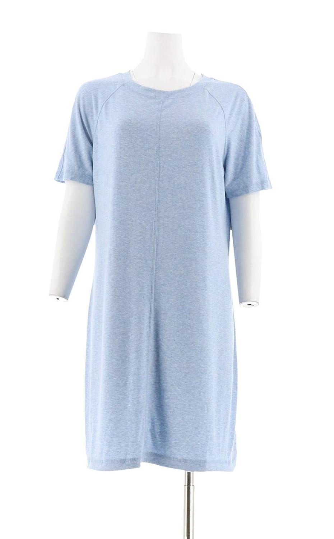 Isaac Mizrahi Soho Raglan Slv Knit T Shirt Dress A278052 At Amazon