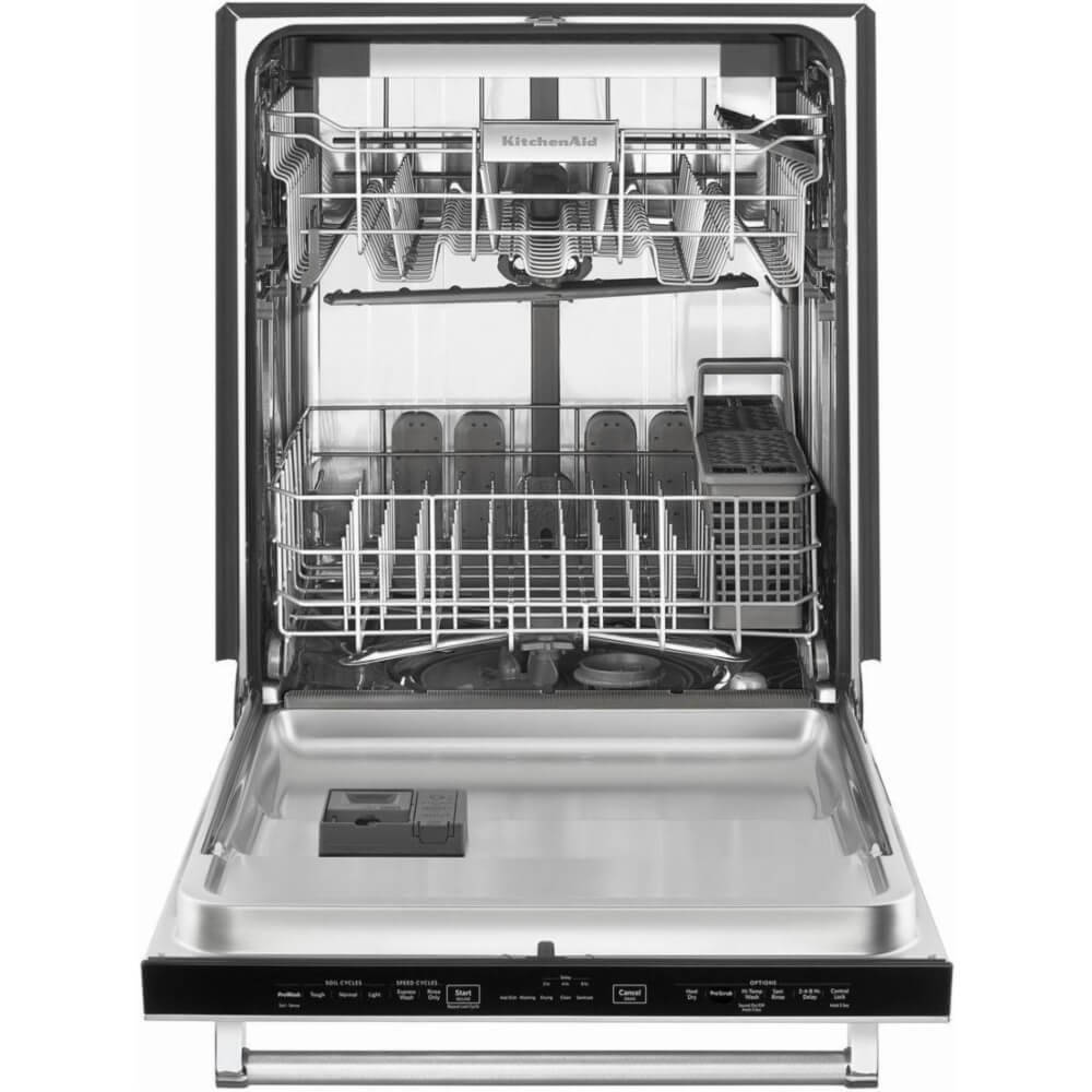 Amazon.com: KitchenAid KDTE334GPS 39dB Stainless Built In Dishwasher With  Third Rack: Appliances