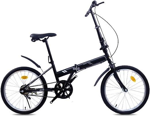 XYSQ Bicicletas 20 Bicicleta Plegable Adulto, Anti-neumático ...