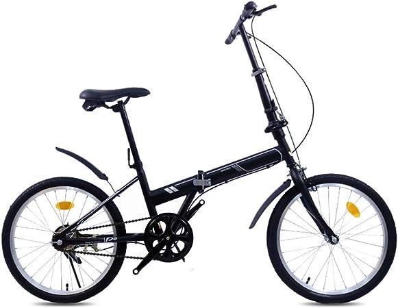 XYSQ Bicicletas 20 Bicicleta Plegable Adulto, Anti-neumático Bicicleta Montaña Macho Hembra Adultos, Bicicletas Cruiser For Adultos Señoras Mujeres Unisex Estudiante Principiante Niñas Niños Bici: Amazon.es: Hogar