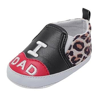 Zapatos de Bebé Recien Nacido, ❤ Amlaiworld Bebé recién Nacido niño niñas Estrella Antideslizante Suela Suave Zapatos Casuales Prealkers Zapatillas ...