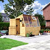 Project Timber 8 x 6 Potting Shed T&G Shed with Opening Window & Potting Shelf 8FT x 6FT