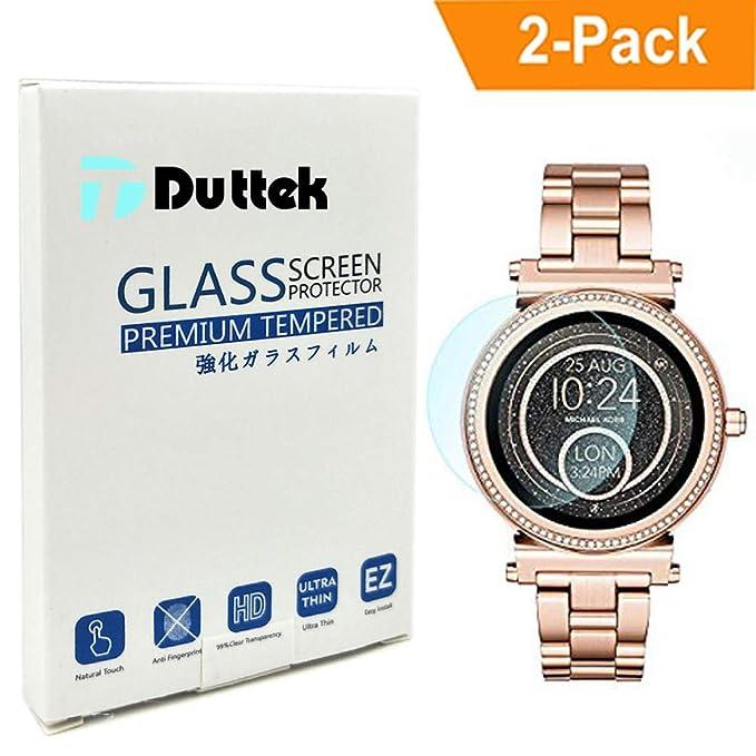 Duttek - Protector de Pantalla de Cristal Templado para ...