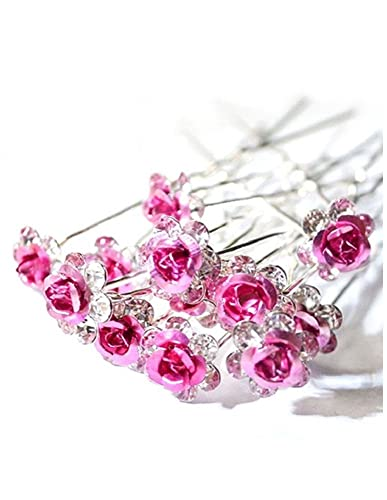 20 x Stunning Diamante Hair Pins Bridal Wedding Available In Many Colors