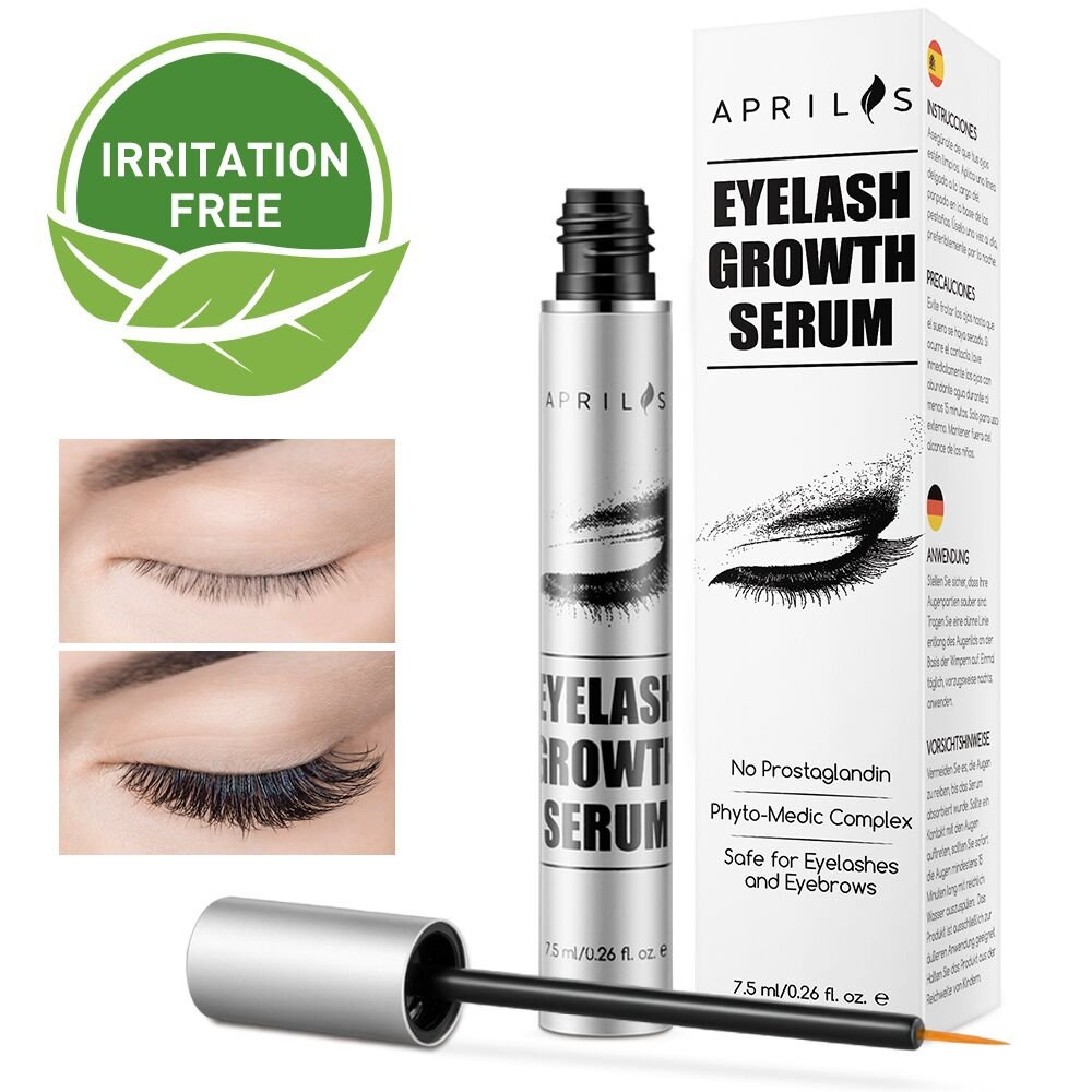 Amazon Natural Lash Growth Serum 75ml Eyelash Growth Enhancer